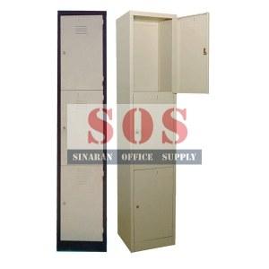S114/3S-3 Compartment Locker