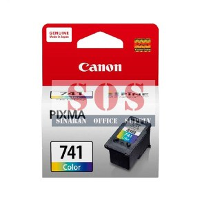 Canon Color Ink Cartridge CL-741