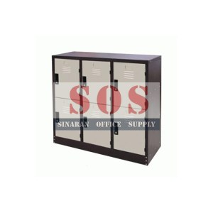 S127/AS-Half Height 6 Compartment Locker