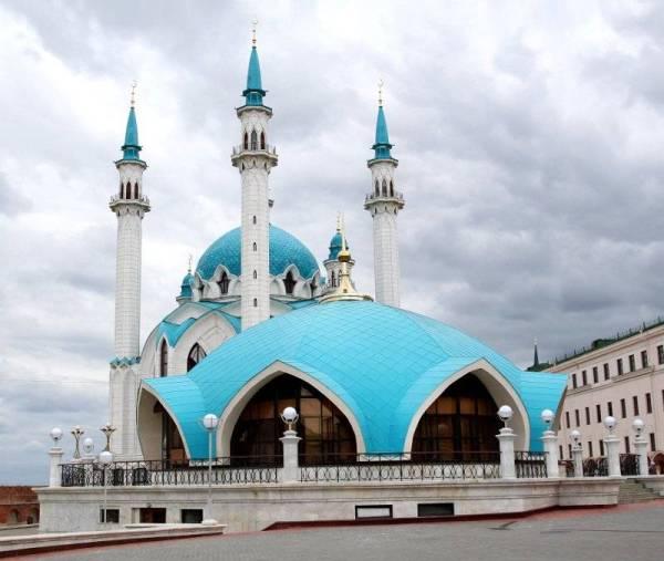 Masjid Kul Sharif di Kazan, Rusia.