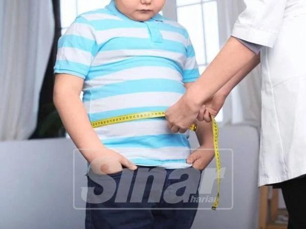 DAPATKAN rawatan untuk atasi obesiti.