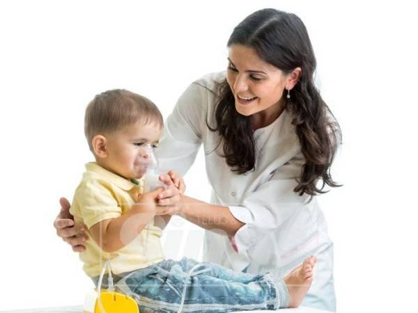 SEGERA dapatkan rawatan apabila anak anda diserang asma.