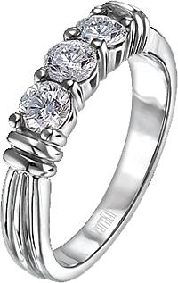 Scott Kay Vintage 5 Stone Prong Set Diamond Wedding Band