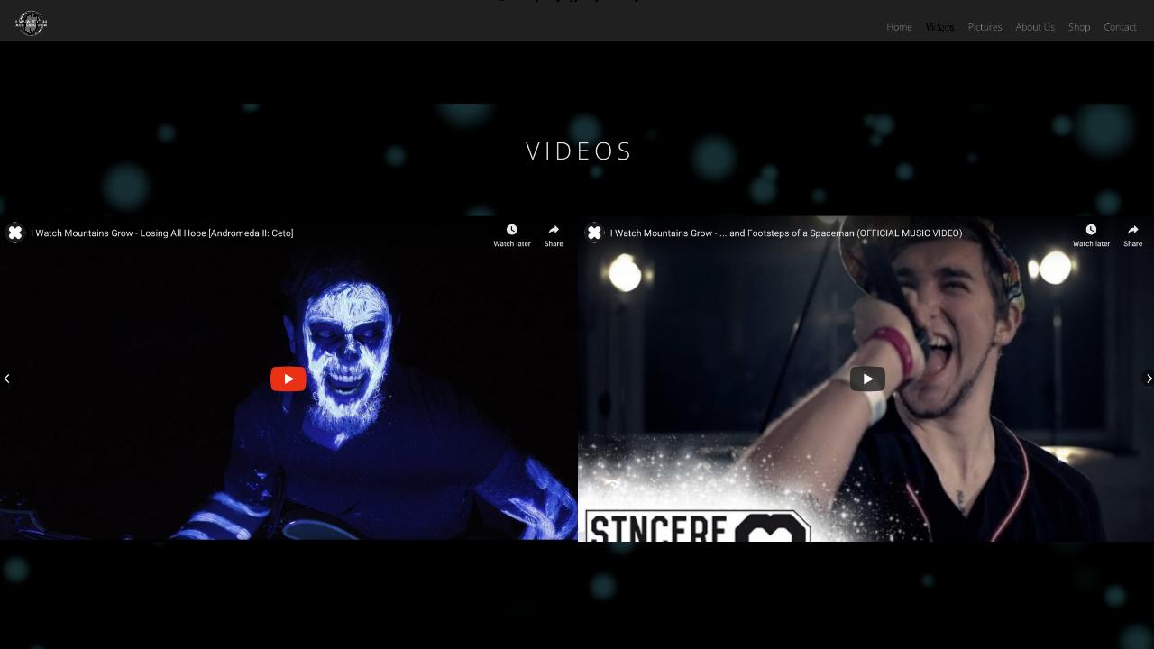 2 Videos - Web Design