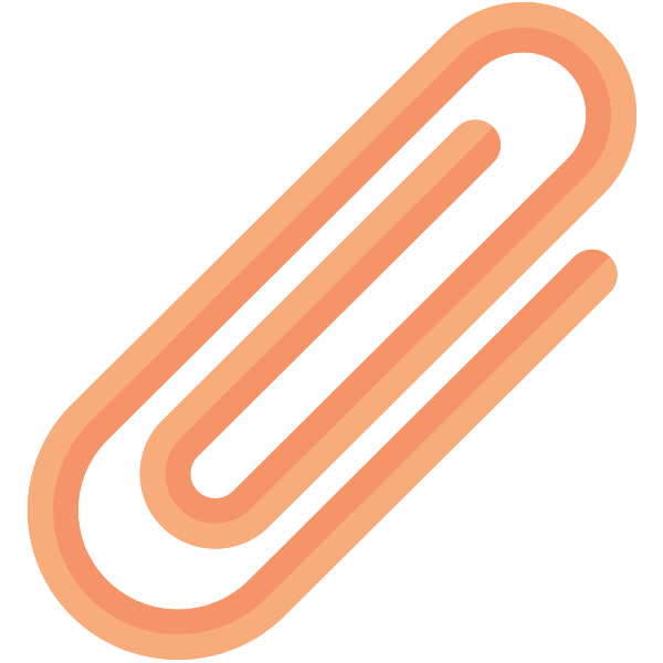 Paper-Clip Red
