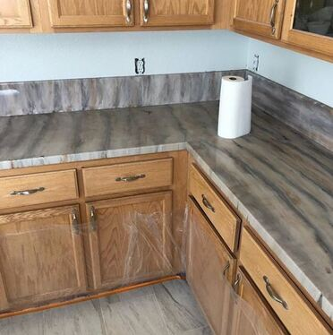 epoxy countertops finished countertops
