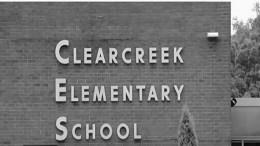 Clearcreek Elementery School sign