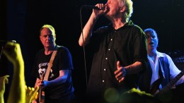 Guided by voices concert - focus on the lead singer