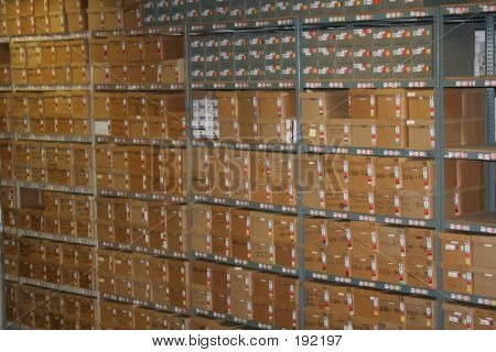 Record Storage Warehouse