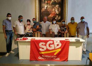 Congresso SGB Puglia, al lavoro per crescere