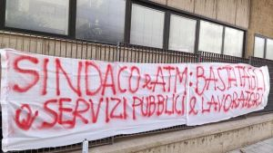Read more about the article Pulizie autobus: ricomincia la protesta