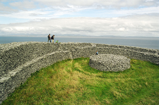 Ring fort on Inis Mor