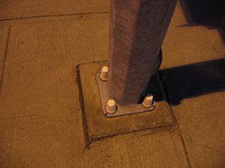 Streetlamp base