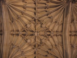 Ceiling in the Bodleian Library