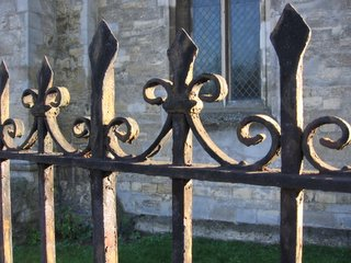 Fence at St. Cross Church