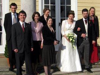 Sarah, Peter, and friends
