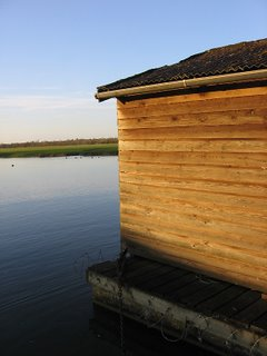 Shed beside the Port Meadow