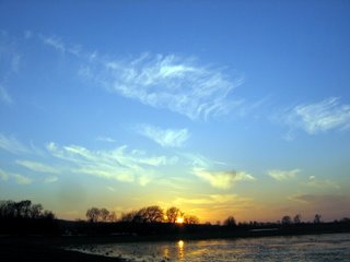 Port Meadow sunset