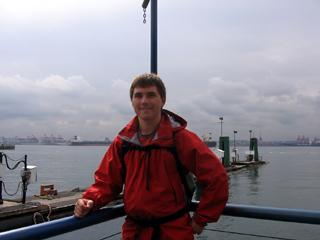 Milan Ilnyckyj at Lonsdale Quay