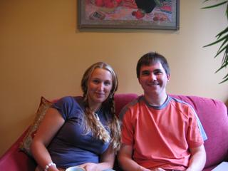 Kate Dillon and Milan Ilnyckyj