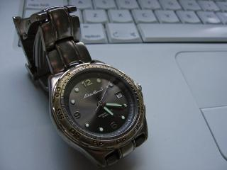 Milan's watch and iBook
