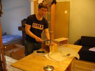 Marc Gurstein and IKEA furniture