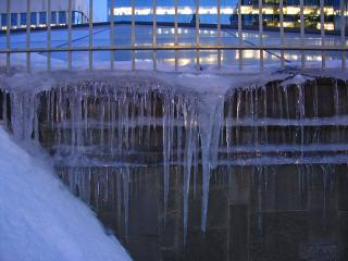 Icicles in Ottawa