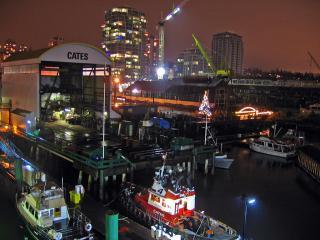 Docks near Lonsdale Quay
