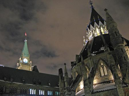 Peace Tower and Parliamentary Library