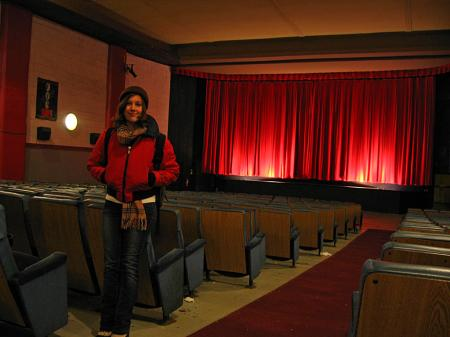 Emily Horn in the ByTowne Cinema