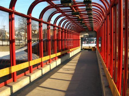 Transit archway