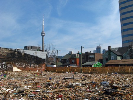Rubble and the CN Tower