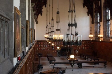 Great Hall chandeliers