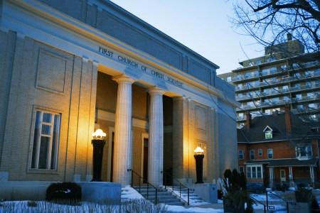 Christian science church, Toronto