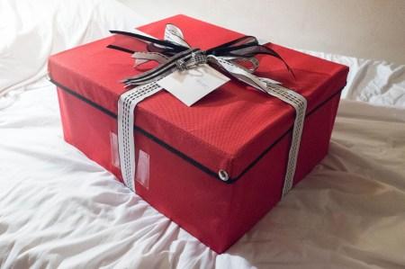Whole Foods gift basket