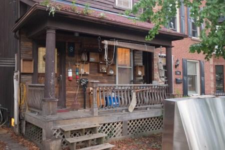 Porch on Howland Street