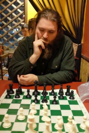 Chess at the Bampot Teahouse