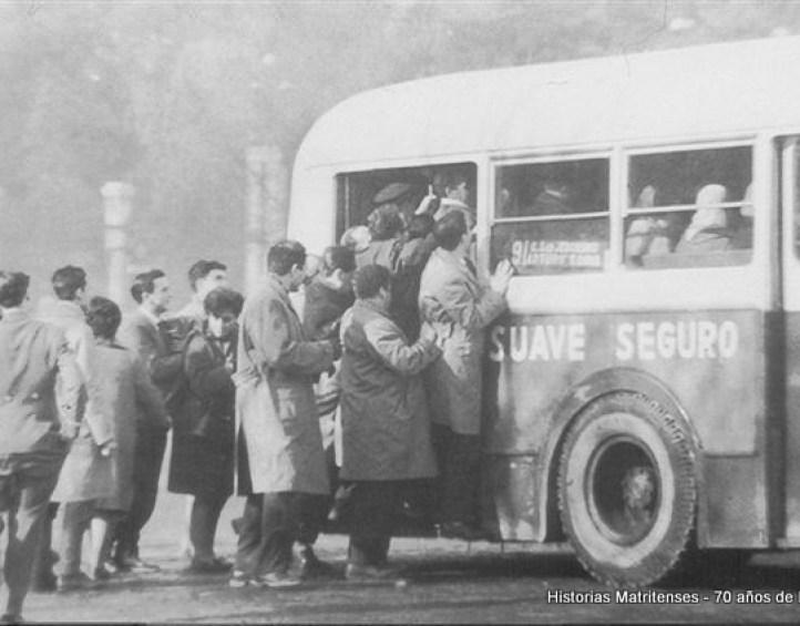 el cobrador del autobus