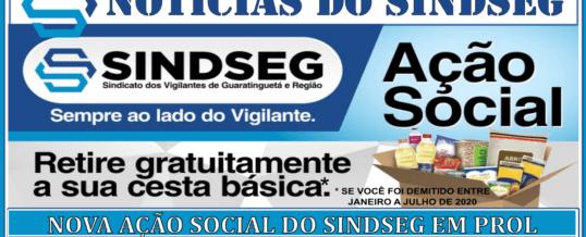 Nova Ação Social do Sindicato dos Vigilantes de Guaratinguetá e Região