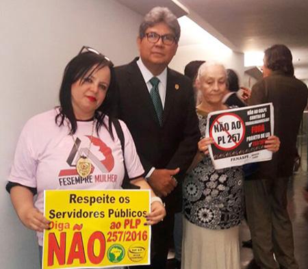 Meg e Gandra em Brasília