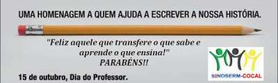 HOMENAGEM PROFESSOR