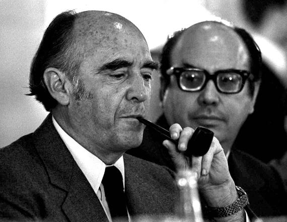 """El ex Presidente mexicano, José López Portillo, un """"hispanista"""". Foto: Especial"""