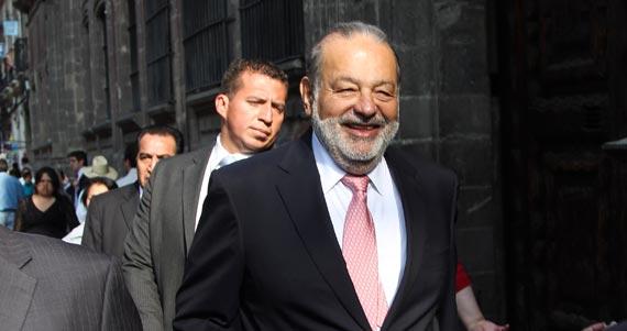 Carlos Slim, el hombre que concentra casi la mitad de la riqueza de los multimillonarios del país. Foto: Cuartoscuro
