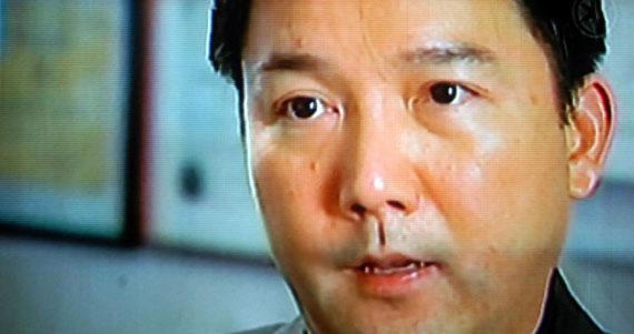 Copelas o cuelo. Foto tomada de un programa de la televisión de Estados Unidos