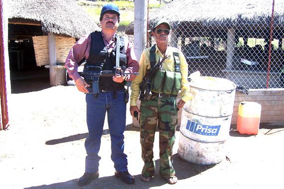"""""""El Chapo"""". A 20 años de su arresto en Guatemala, en una de las últimas fotos que se conocen de él. Foto: Archivo"""
