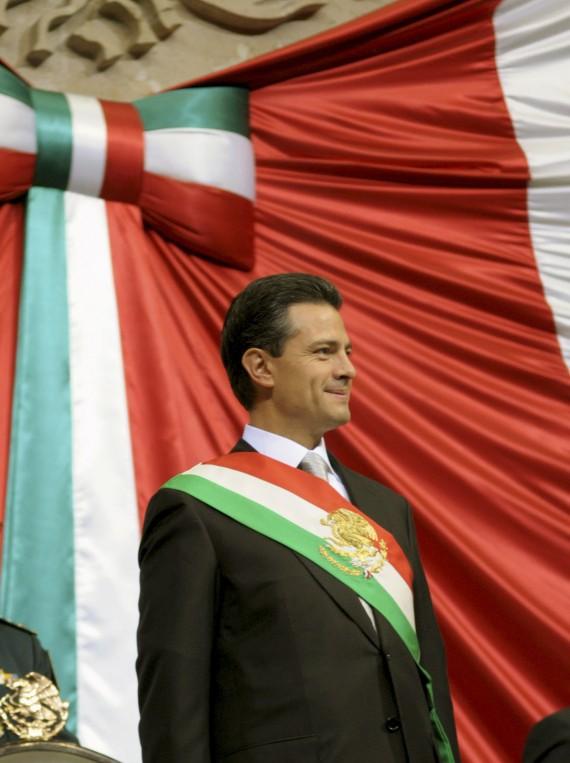 Toma de protesta de Enrique Peña Nieto, el 1 de diciembre de 2012. Foto: Cuartoscuro