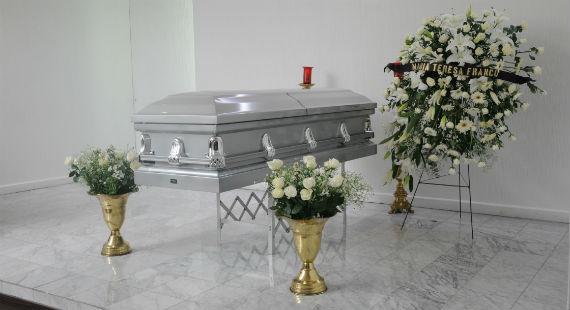Sus restos fueron velados en el Panteón Francés. Foto: CONACULTA