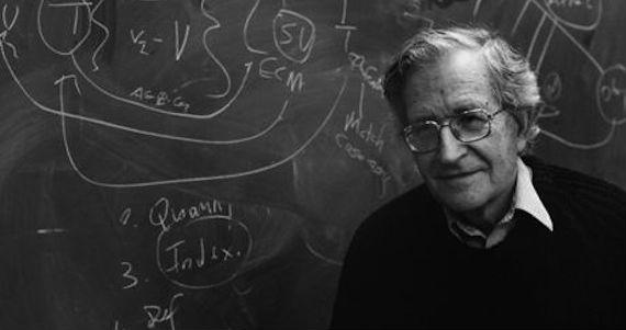 Noam Chomsky, un pensador desde la izquierda. Foto: Archivo