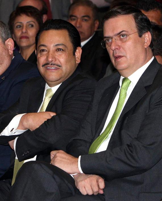 Serrano y Ebrard. Los días del encumbramiento. Foto: Cuartoscuro