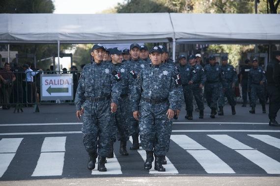 La Gendarmería Nacional es uno de los nuevos instrumentos del gobierno federal para reforzar la seguridad. Foto: Cuartoscuro